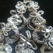 Vintage Spanish Trim Ivory Lace Trim